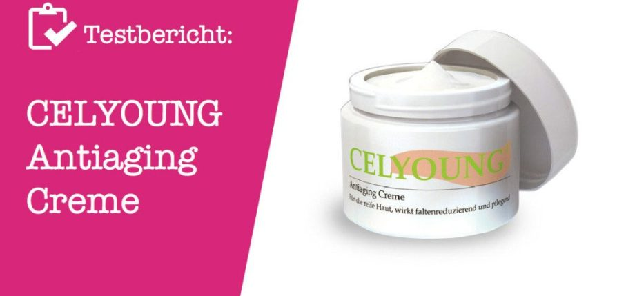 CELYOUNG Antiaging Creme Testbericht