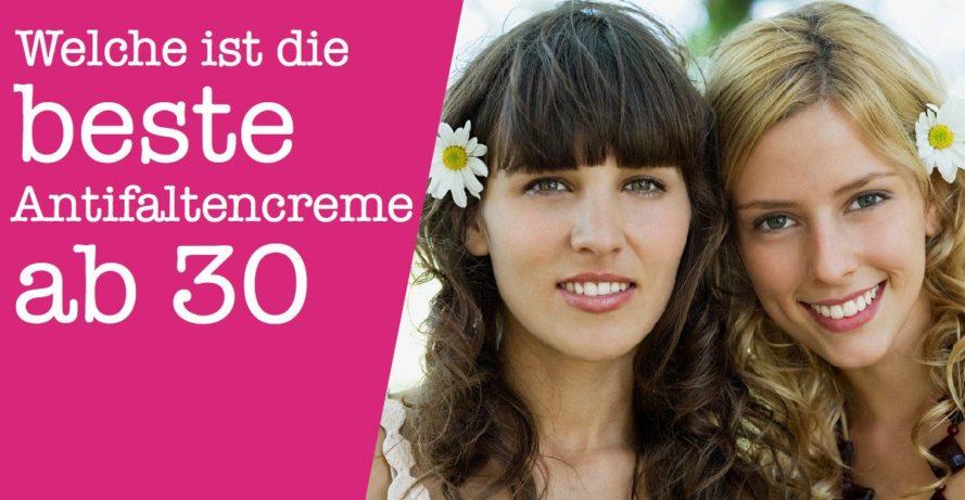 Antifaltencreme ab 30