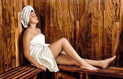 Sauna gegen Falten